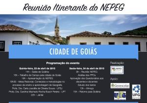 Reunião Itinerante NEPEG 2015